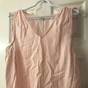 Old navy tank top blouse, size small